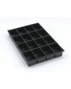 Schubladeneinsatz mit 16 Fächern