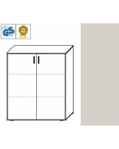 Business Line - Aktenschrank, 113,5 x 106 x 42 cm (HxBxT), Dekor: Lichtgrau