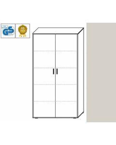 Business Line - Aktenschrank, 186,5 x 106 x 42 cm (HxBxT), Dekor: Lichtgrau