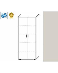 Business Line - Aktenschrank, 186,5 x 86 x 42 cm (HxBxT), Dekor: Lichtgrau