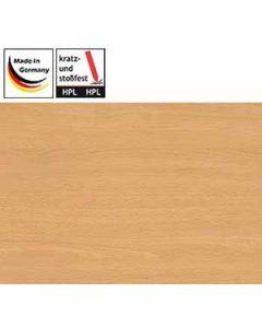 Tischplatten eckig, HPL-beschichtet