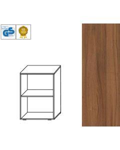 BUSINESS Line - Regal, 79 x 66 x 42 cm (HxBxT), Dekor: Nussbaum