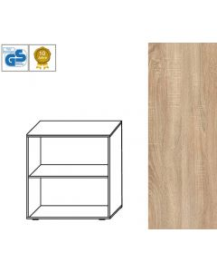 BUSINESS Line - Regal, 79 x 86 x 42 cm (HxBxT), Dekor: Bardolino Eiche