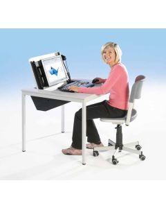 Computer-Einertisch, Breite: 100 cm