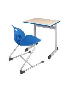 Einer-Schülertisch Modell T, Größe: 75 x 65 cm