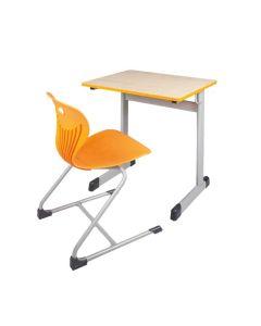 Einer-Schülertisch Modell T, Größe: 70 x 55 cm