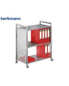 Kerkmann Etagenwagen Artline, Farbe: Chrom/Alusilber