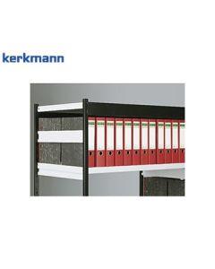 Kerkmann Seitensteg zu Büro-Regal Progress 500 / 2000 und Stora 100, Lichtgrau