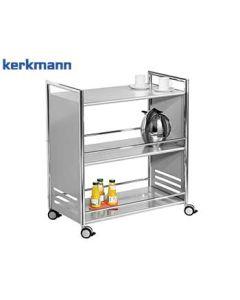 Kerkmann Servierwagen Artline, Farbe: Chrom/Alusilber