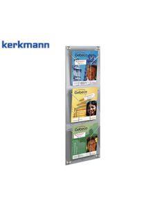 Kerkmann Wand-Prospekthalter artline, DIN A4