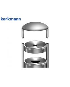 Kerkmann Wetterschutzaufsatz für Sicherheitsstandascher tec-art E