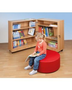 Klappbibliothek, 6 Fächer