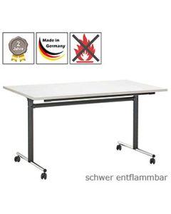 Klapptisch Vernier mit schwer entflammbarer Tischplatte (B1)