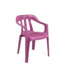 Kunststoffstuhl Entriomo - Violett