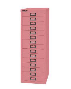Bisley - Schubladenschrank MultiDrawer™ 15 Schubladen A4