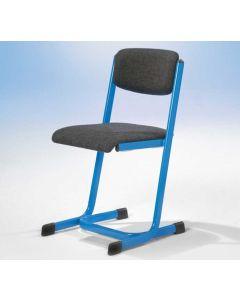 Lehrerstuhl MLSP 30, mit offenem Sitzträger, C-Form, gepolstert