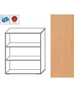 Basic Line - Regal, 107,5 x 100 x 42 cm (HxBxT), Dekor: Buche