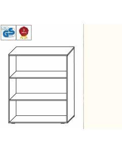 Basic Line - Regal, 107,5 x 100 x 42 cm (HxBxT), Dekor: Weiß
