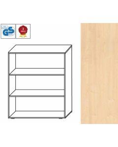 Basic Line - Regal, 107,5 x 100 x 42 cm (HxBxT), Dekor: Ahorn