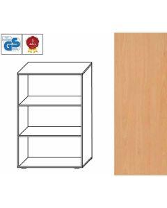 Basic Line - Regal, 107,5 x 80 x 42 cm (HxBxT), Dekor: Buche