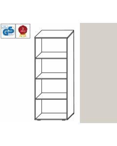 Basic Line - Regal, 146 x 60 x 42 cm (HxBxT), Dekor: Lichtgrau