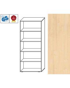 Basic Line - Regal, 180,5 x 80 x 42 cm (HxBxT), Dekor: Ahorn