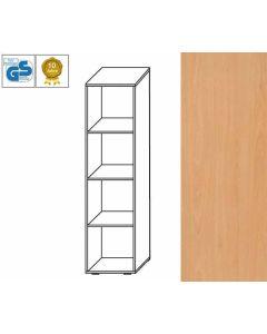 BUSINESS Line - Regal, 152 x 46 x 42 cm (HxBxT), Dekor: Buche