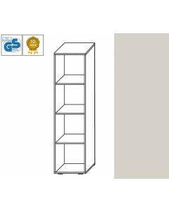 BUSINESS Line - Regal, 152 x 46 x 42 cm (HxBxT), Dekor: Lichtgrau