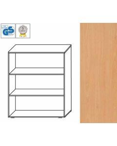 PROFI Line - Regal, 107,5 x 100 x 42 cm (HxBxT), Dekor: Buche