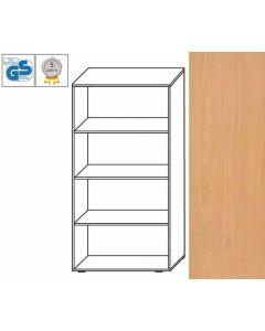 PROFI Line - Regal, 146 x 80 x 42 cm (HxBxT), Dekor: Buche