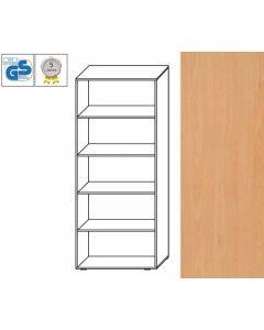 PROFI Line - Regal, 180,5 x 80 x 42 cm (HxBxT), Dekor: Buche