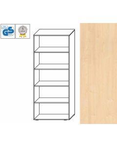 PROFI Line - Regal, 180,5 x 80 x 42 cm (HxBxT), Dekor: Ahorn