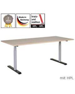 Schreibtisch 3R11, elektrisch höhenverstellbar, mit HPL-Platte