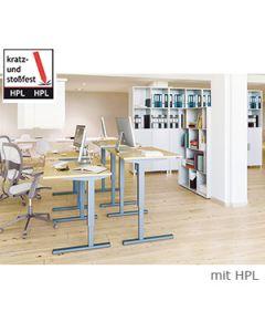 Schreibtisch LENI mit HPL-Beschichtung