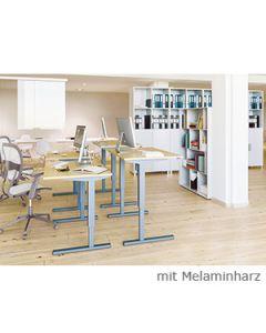 Schreibtisch LENI, elektromotorisch höhenverstellbar
