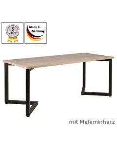 Schreibtisch Modell V mit Melaminharzplatte