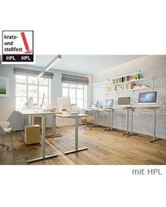 Schreibtisch TESSI, mit HPL-Beschichtung