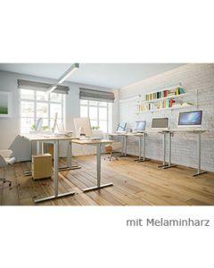 Schreibtisch TESSI, elektromotorisch höhenverstellbar