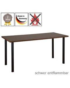 Schreibtisch Modell 5 mit schwer entflammbarer Tischplatte (B1)