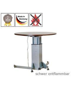 Schreibtisch SELINA, mit schwer entflammbarer Tischplatte (B1)
