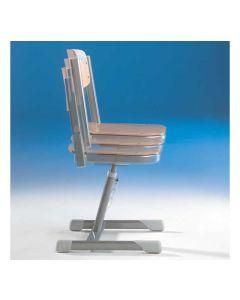 Schülerstuhl Aluflex, dynamische Sitzfläche, höhenverstellbar, Sitzhöhe: 34 - 42 cm