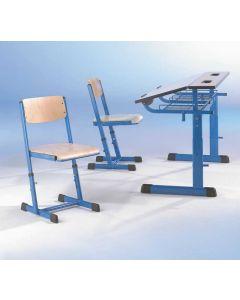 Schülerstuhl Ecostar,  DIN-Höhe 1-3, Sitzhöhe: 35 - 43 cm