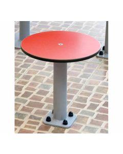 Sitzhocker für Bodenmontage, Außenbereich