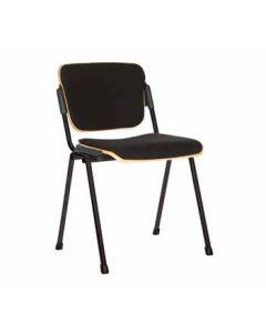 Stapelstuhl Willand Wood, Sitz und Rücken gepolstert