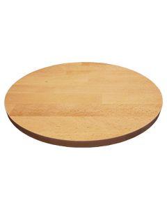 Massivholz-Tischplatten Buche 40 mm, rund