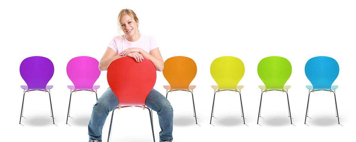 Stühle für alle Zwecke