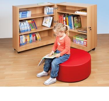 Möbel für Bibliotheken in Kindergärten und Schulen