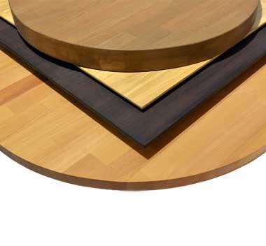 Massivholzplatten - Tischplatten aus massivem Buchenholz