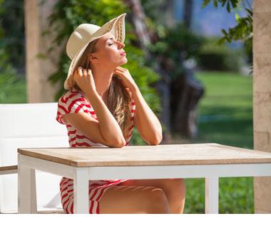 Outdoor-Tischplatten: wetterfest für den Außenbereich