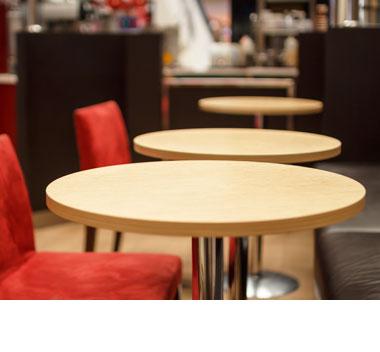 Runde Tischplatten günstig kaufen!
